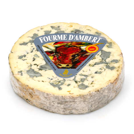 Marcel Charrade - Fourme d'Ambert AOP - french blue cheese
