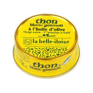 Conserverie La Belle Iloise - Thon blanc germon à l'huile d'olive