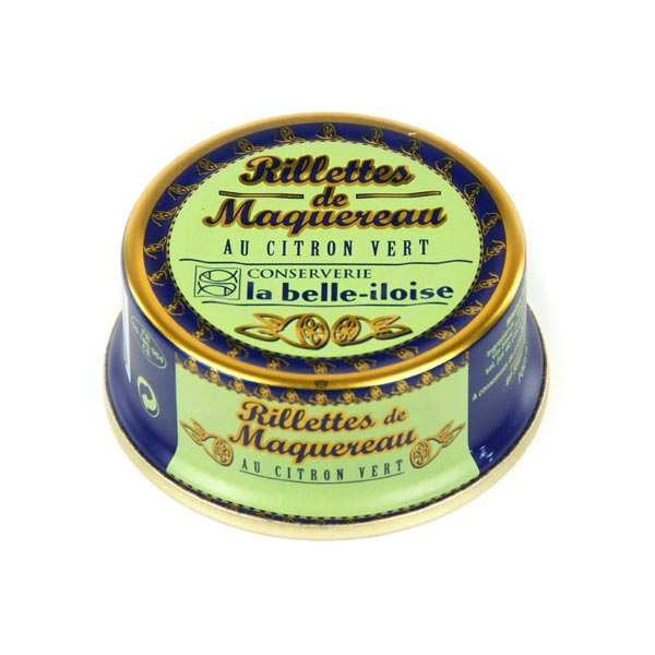 Mackerel Rillettes with Lime