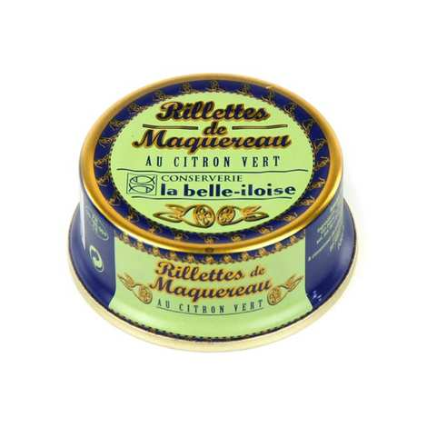 Conserverie La Belle Iloise - Mackerel Rillettes with Lime