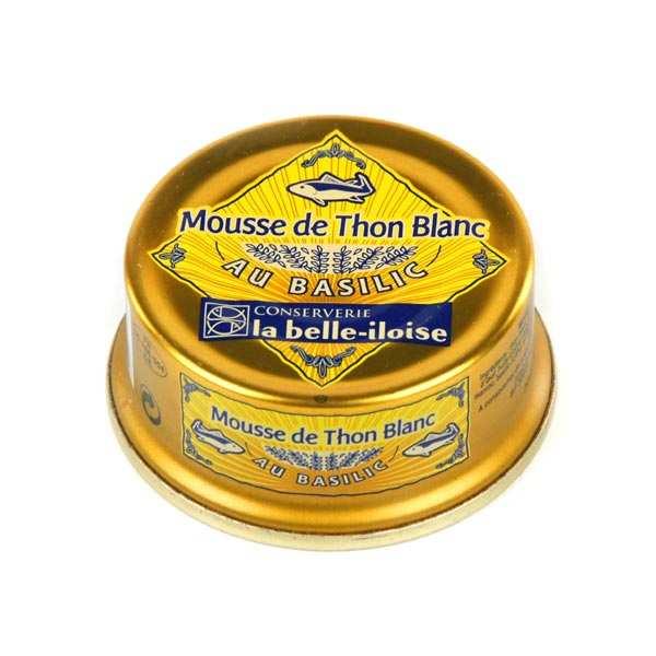 Mousse de thon blanc au basilic