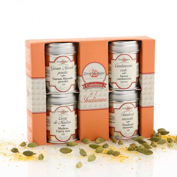 Spices gift box - Indian cooking