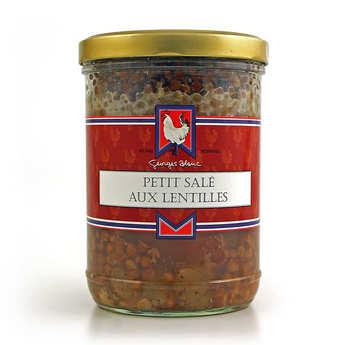 Georges Blanc - Salt pork and lentils