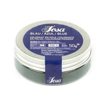 Sosa ingredients - Blue colouring powder