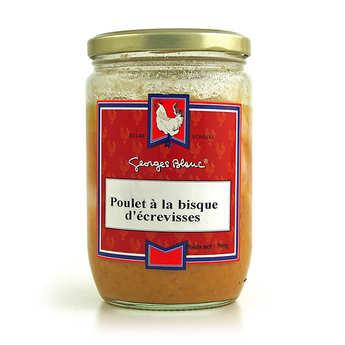 Georges Blanc - Chicken with a crayfish bisque