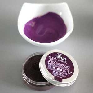 Sosa ingredients - Purple colouring powder