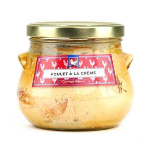 Georges Blanc - Poulet de Bresse à la crème et au Chardonnay