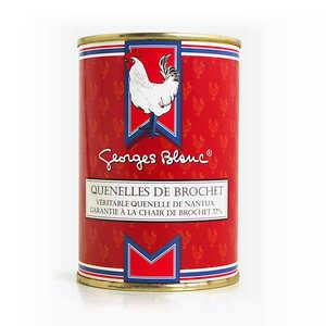 Georges Blanc - Battered pike fillets