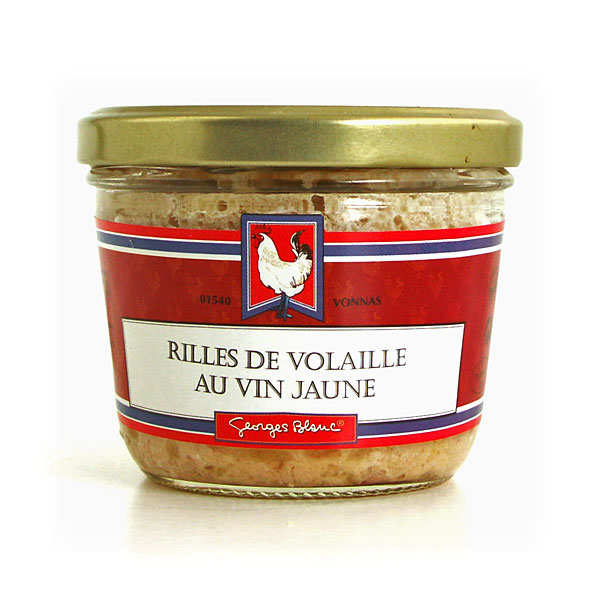 Rillettes of chicken made with white wine