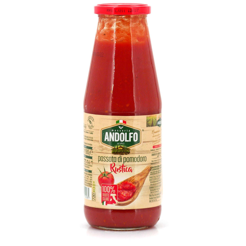 Purée de tomates rustiques - pomorustica