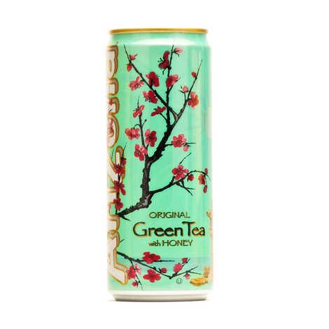 Arizona Iced Tea - Arizona au thé vert, ginseng et miel - Canette