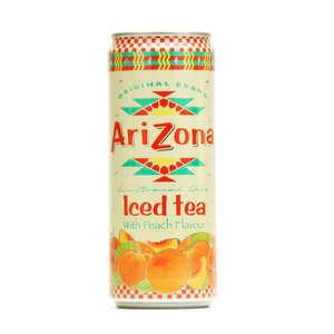 Arizona Iced Tea - Arizona au thé noir et à la pêche - Canette