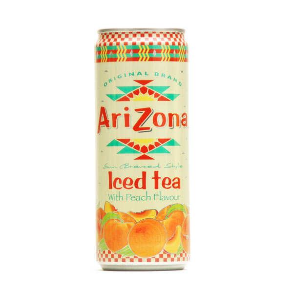 Arizona au thé noir et à la pêche - Canette