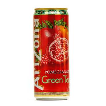 Arizona Iced Tea - Arizona au thé vert et à la grenade - Canette