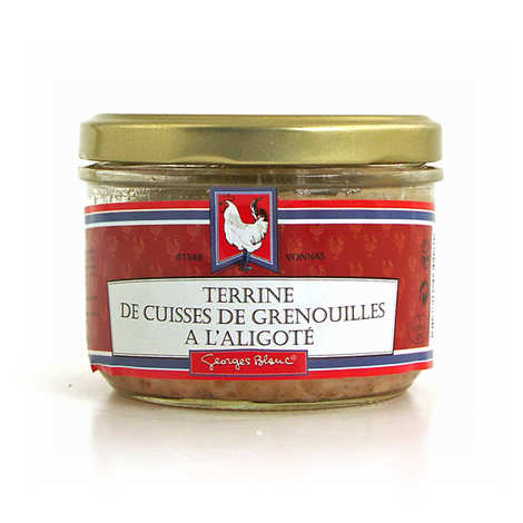 Georges Blanc - Terrine de cuisses de grenouilles à l'aligoté