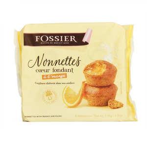 Biscuits Fossier - Nonnettes coeur fondant à l'orange