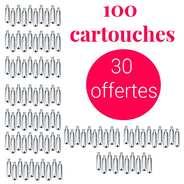 Mosa - 70 cartouches siphon + 30 offertes C02 - Pour soda