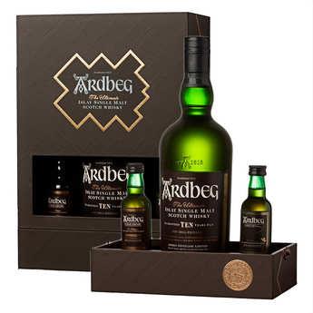 Distillerie Ardbeg - Whisky Ardbeg 10 ans Coffret Exploration 46%