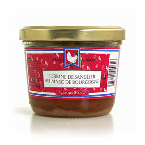 Georges Blanc - Wild boar paté flavoured with Burgandy marc