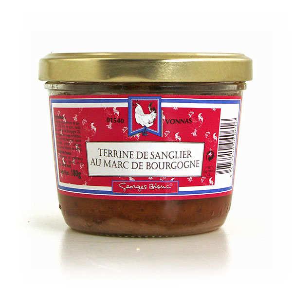 Terrine de sanglier au marc de Bourgogne