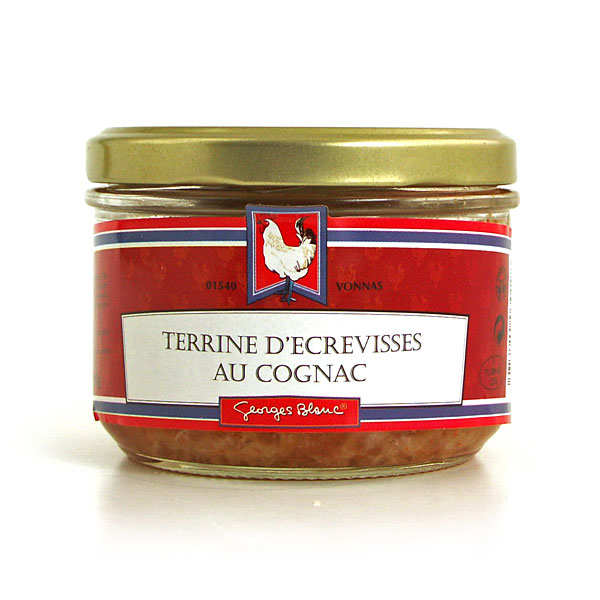 Crayfish paté flavoured with Cognac