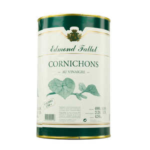 Fallot - Cornichons au vinaigre - Boîte Géante
