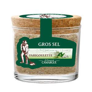 Les Saunier de Camargue - Sel de Camargue aromatisé thym et laurier - Farigoulette