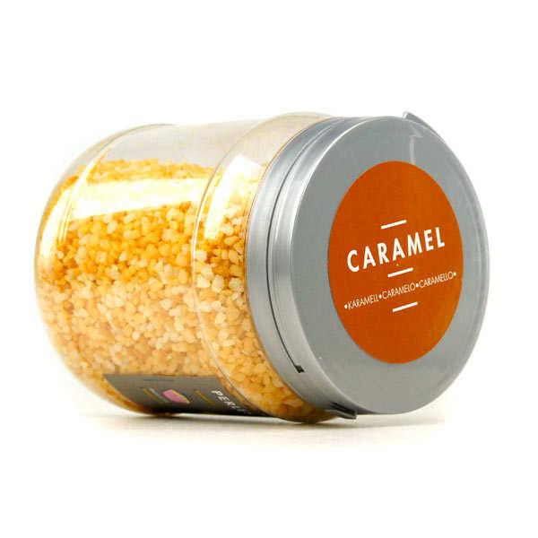 Sucre perlé aromatisé au caramel - Sucre spécial chouquettes