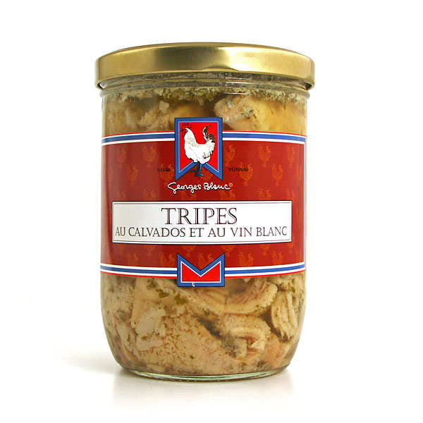 Tripe with White Wine & Calvados
