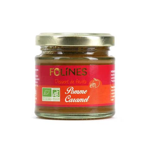 Folines - Compote pomme caramel au beurre salé