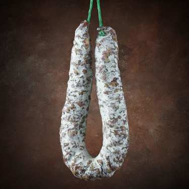 Dry duck sausage