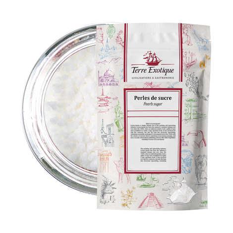 Terre Exotique - Sucre perlé - Sucre spécial chouquettes - Sachet