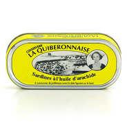 La quiberonnaise - Sardines à l'huile d'arachide millésimées