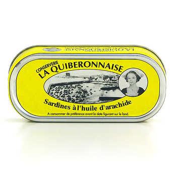 La quiberonnaise - Sardines in Peanut Oil