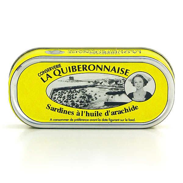 Sardines à l'huile d'arachide millésimées