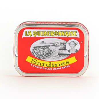 La quiberonnaise - Sardines à l'huile d'olive millésimées