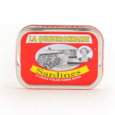 Sardines in Olive Oil from Brittany