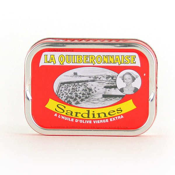 Sardines à l'huile d'olive millésimées