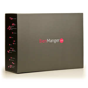 - BienManger.com gift box - 25 x 11 x 33cm