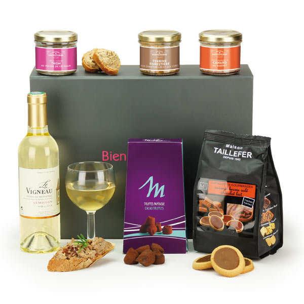 Boite cadeau rectangle aimantée - BienManger.com