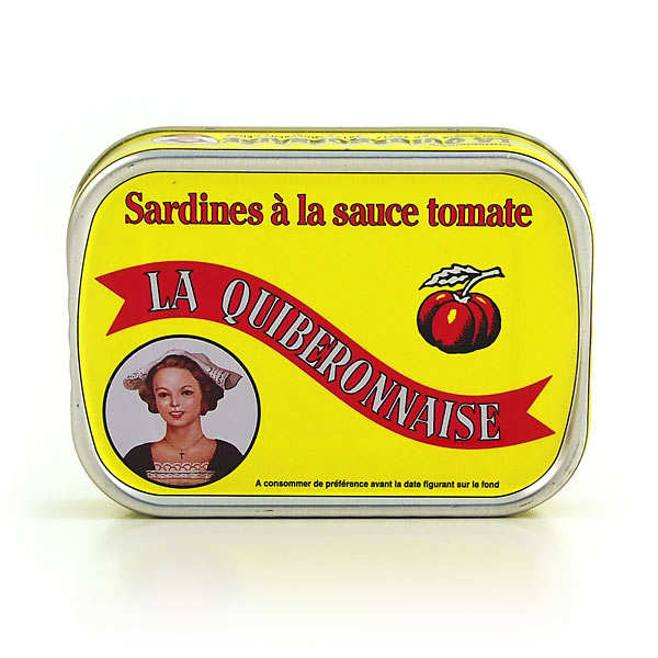 Tomato sauce sardines