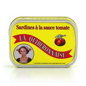 La quiberonnaise - Sardines millésimées à la sauce tomate