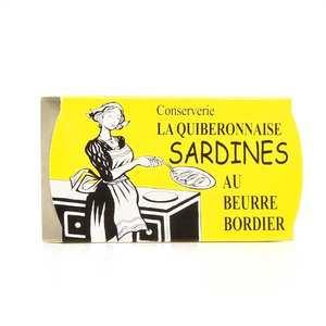 La quiberonnaise - Sardines millésimées au beurre Bordier à poêler