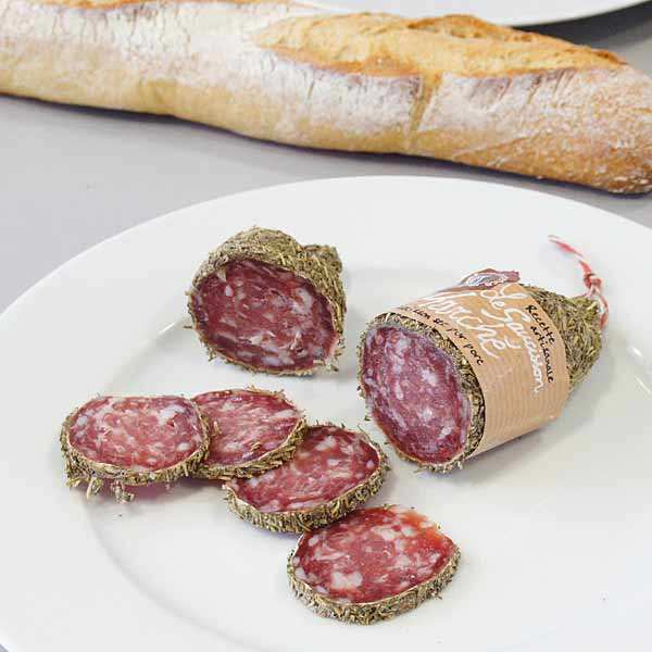 Dry sausage with Herbes de Provence