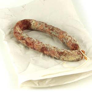 Alain Ginisty - Saucisse sèche au roquefort de l'Aveyron