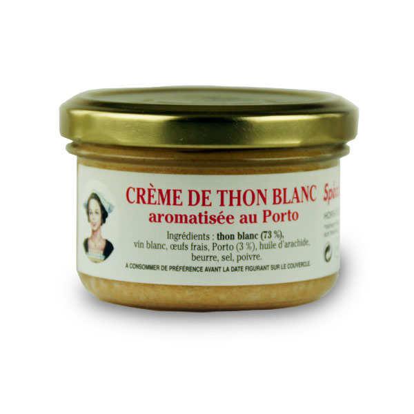 Crème de thon blanc aromatisée au Porto