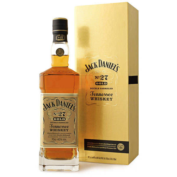 Jack Daniel's Gold N°27 whisky du Tennessee - 40%