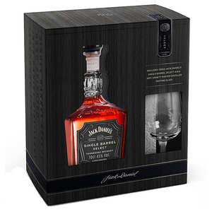 Jack Daniel's - Jack Daniel's Whisky single barrel kit with 2 glasses 45%
