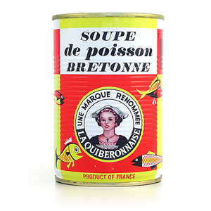 La quiberonnaise - Fish Soup from Brittany (Quiberon)
