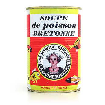 La quiberonnaise - Soupe de poissons artisanale Bretonne